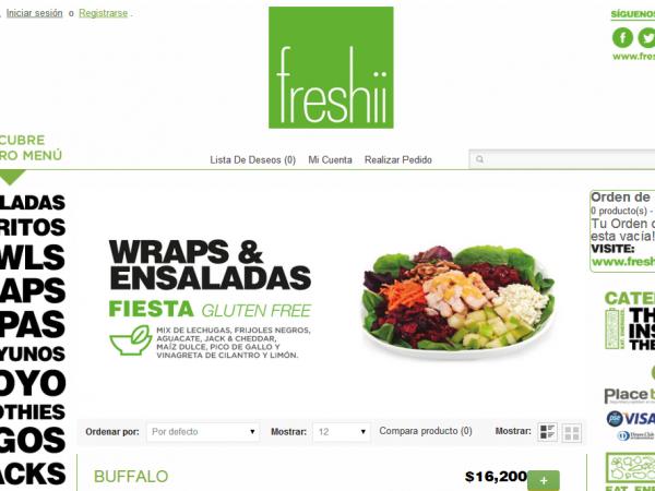 Freshii Portafolio Arquitectos de la Web